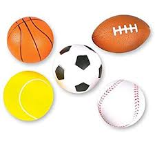 relaxable balls foam sports balls 1 dz toys