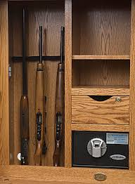 Gun Cabinet Specifications Flat Screen Tv Armoire Gun Cabinet For Bedroom American Made