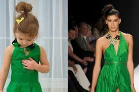 four year old re creates celebrity dresses from paper stylist