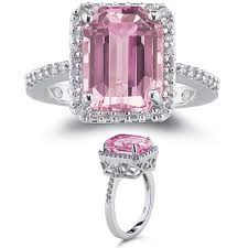 coloured gemstones rings images All fashionable jewellery in one place pink gemstone engagement jpg