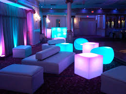 illuminated and led furniture to make your event shine things