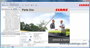 claas parts doc v 2 0 agricultural spare parts catalog heavy