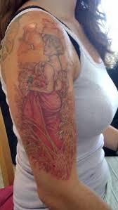 summer 1903 alphonse mucha tattoo shawn wilken