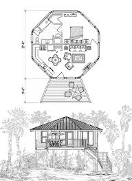 Octagon Home Plans Piling House Plans Topsider Homes