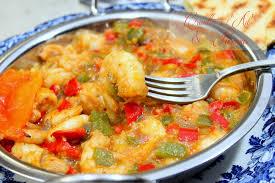 poivron cuisine crevettes sautées a l ail et poivron recettes faciles recettes