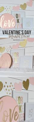 diy fall mantel decor ideas to inspire landeelu com pink and gold valentine s day mantel landeelu com pretty blush