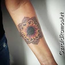 20 of the most boujee sunflower tattoo ideas u2013 mybodiart