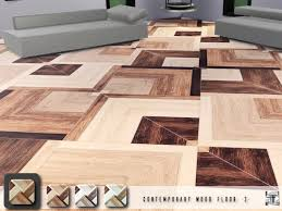 these contemporary wood floors a pattern with multi tone