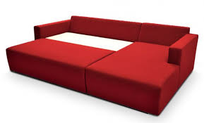 Red Corner Sofa by Funique Co Uk