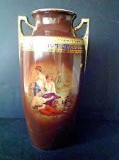 Czechoslovakia Vase Brown Bohemian U0026 Czech Art Pottery Ebay