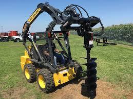 skid steer earth auger systems premier auger
