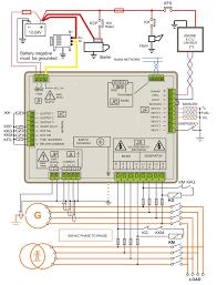 generator control panel for industrial applications diagram jpg