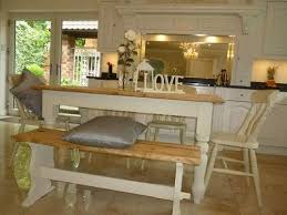 Kitchen Table With Bench Seat And Chairs Bench Seat Kitchen - Pine kitchen tables and chairs
