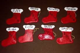 cookie cutter salt dough ornaments made by my 1 2 cup flour 1