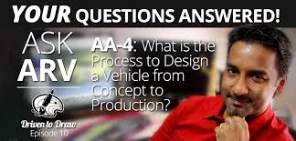 podcast 11 u2013 ask arv 4 what is the process of designing a car