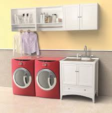 Laundry Room Sink With Cabinet by Unique Laundry Room Wall Cabinets Beautiful Home Design
