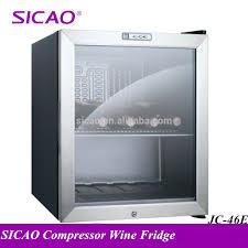 mini bar fridge glass door mini refrigerator low energy consumption mini refrigerator low