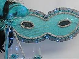 centerpieces for quinceanera quinceanera centerpieces mask theme turquoise black toasting