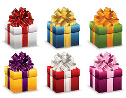 gift box with ribbon gift boxes with ribbon vector illustration free vector graphics