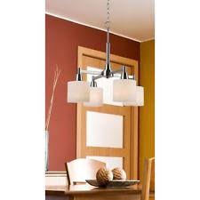 Hampton Bay Nove Chandelier Stainless Steel Hampton Bay Chandeliers U0026 Ceiling Fixtures Ebay
