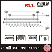 wall mounted drying rack for laundry manual lift table wall mounted aluminum laundry hanging clothes
