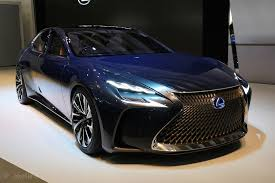 future lexus cars lexus lf fc future fuel cell concept up bmw 7 series