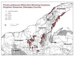 Map Of Upper Peninsula Upper Peninsula Counties Image Gallery Hcpr