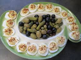 devilled egg platter pickles and deviled egg tray by kukuramutta on deviantart