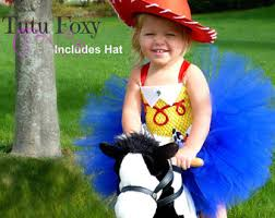 Cowgirl Halloween Costume Toddler Jessie Costume Etsy
