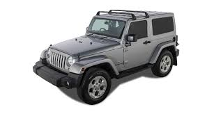 jeep black 2 door rhino rack vortex sg black 2 bar roof rack 2 door sg60
