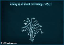 sparkling birthday fireworks free happy birthday ecards greeting