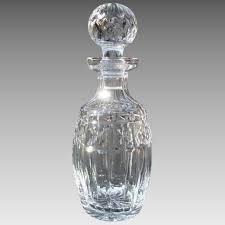 waterford crystal l base vintage waterford crystal spirit decanter kylemore bella rosa