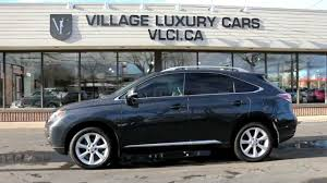 lexus rx 350 used for sale toronto 2010 lexus rx350 village luxury cars toronto youtube