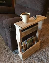 Small Side Table Best 25 Pallet Side Table Ideas On Pinterest Diy Living Room