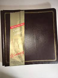 webway photo albums webway by creative memories brown leather scrapbook album cwl 333