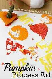 pumpkin art exploration pumpkin art process art and activities