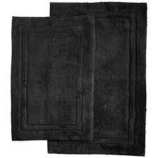 Black Bathroom Rug Black Bath Rugs Mats Sears