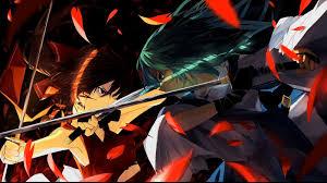 anime wallpapers girls sword fighting anime sword fight cartoon anime wallpaper pinterest anime