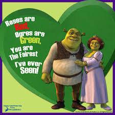 shrek u0026 fiona valentine u0027s cards meme