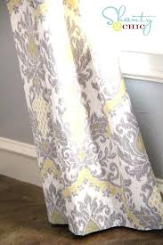 Yellow And Grey Curtain Panels Yellow Drapes And Curtains Mirak Info