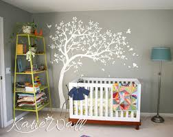 arbre chambre bébé stickers arbre blanc chambre b b avec stickers chambre bebe arbre