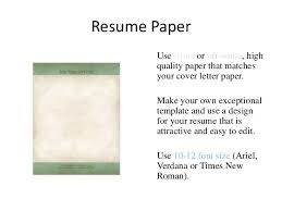 should i print cover letter on resume paper ghost writer essay