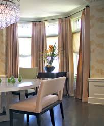 Rods For Bay Windows Ideas Window Curtains Awesome Of Curved Curtain Rod For Bay Window