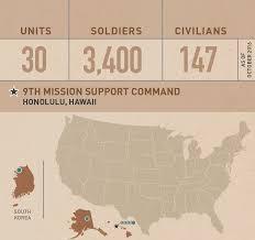 Honolulu Zip Code Map by U S Army Reserve U003e Commands U003e Geographic U003e 9th Msc