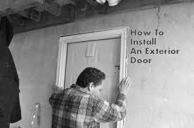 Replacing Exterior Doors How To Install Or Replace An Exterior Door One Project Closer