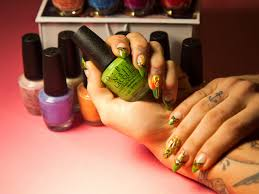 i got a weed manicure yep there u0027s ganja on my nails