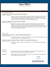 Chronological Resume Builder Resume Templates 2016 U2022 Which One Should You Choose