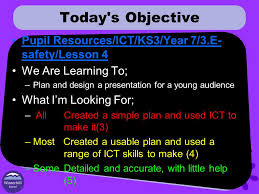 unit objectives look at the dangers of the internet ppt download