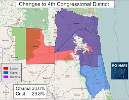 Map Of Ocala Fl The Complete Breakdown Of Florida U0027s Proposed Congressional