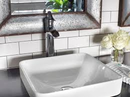 Bathroom Sink Backsplash Ideas Delighful Bathroom Subway Tile Backsplash 25 Glass Ideas Only On